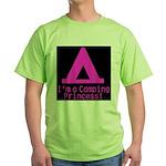 Camping Princess Green T-Shirt