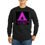 Camping Princess Long Sleeve Dark T-Shirt