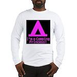 Camping Princess Long Sleeve T-Shirt
