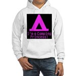 Camping Princess Hooded Sweatshirt