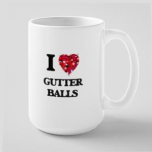 I love Gutter Balls Mugs