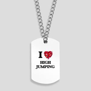 I love High Jumping Dog Tags