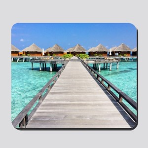 path to paradise Mousepad