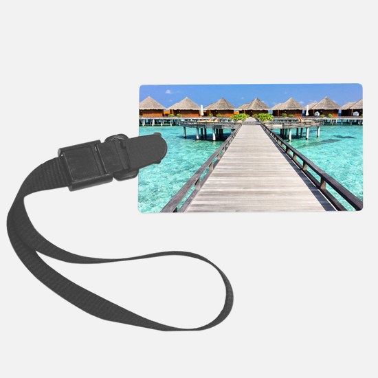 path to paradise Luggage Tag