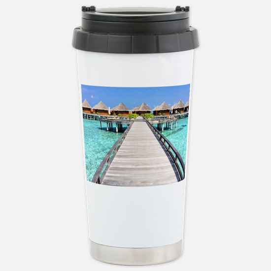 path to paradise Stainless Steel Travel Mug