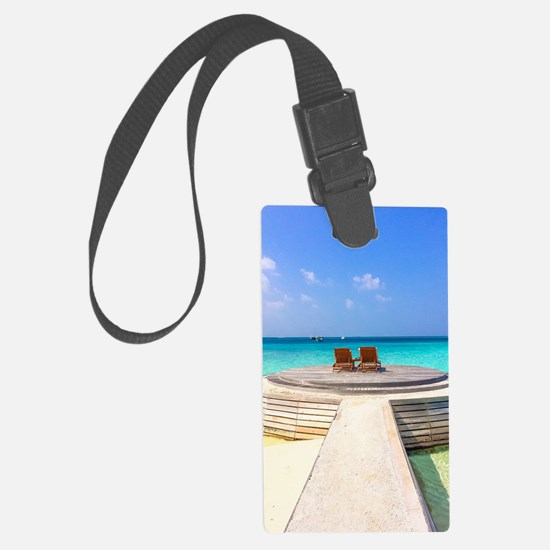 paradise for two Luggage Tag