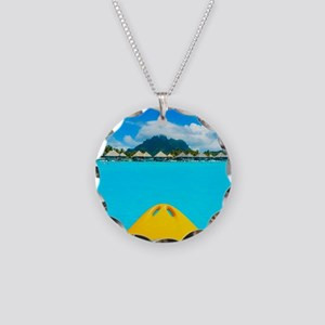 paradise found Necklace Circle Charm