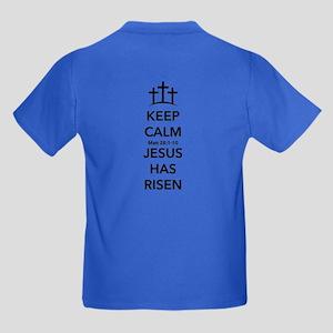 Risen Jesus Kids Dark T-Shirt