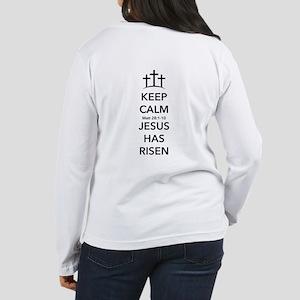 Risen Jesus Women's Long Sleeve T-Shirt