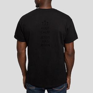 Risen Jesus Men's Fitted T-Shirt (dark)
