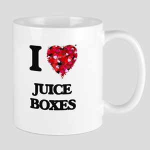 I love Juice Boxes Mugs