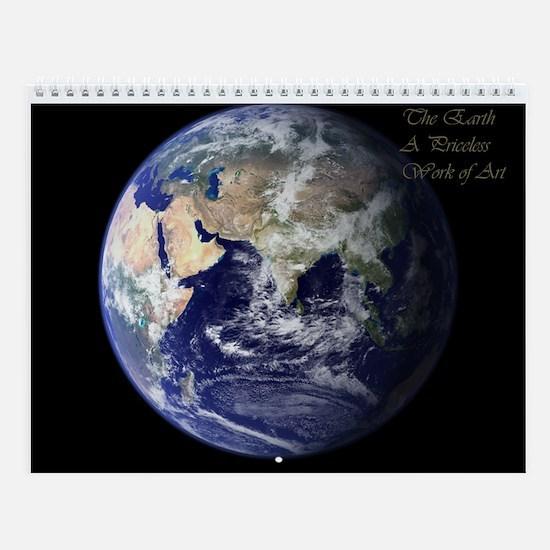 Earth As Art Wall Calendar