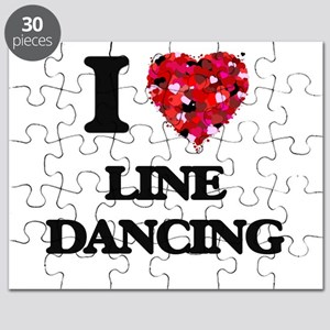 I love Line Dancing Puzzle