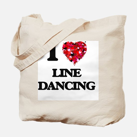 I love Line Dancing Tote Bag