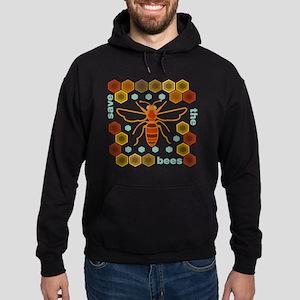 Save the Bees Hoodie (dark)