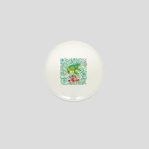 Tree Frog Mini Button