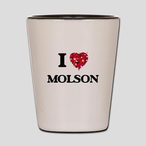 I love Molson Shot Glass