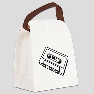 Cassette Canvas Lunch Bag