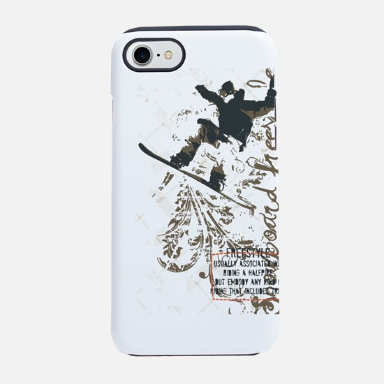 Snowboarding Freestyle iPhone 8/7 Tough Case