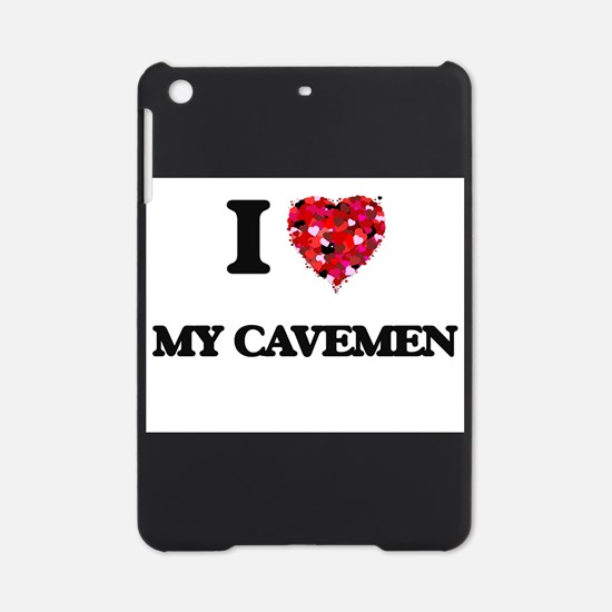 I love My Cavemen iPad Mini Case