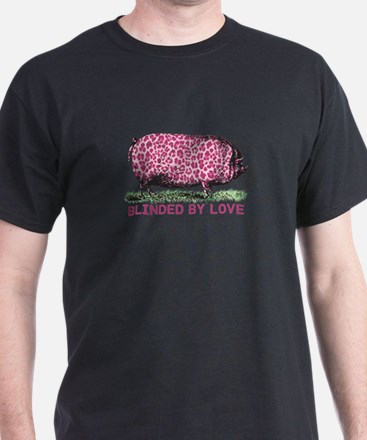 Pig With Leopard Print T-Shirt