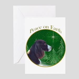 English Springer Peace Greeting Card