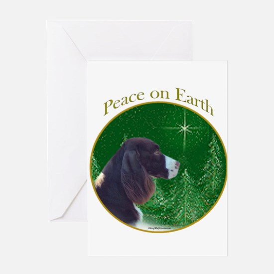 English Springer Peace Greeting Card