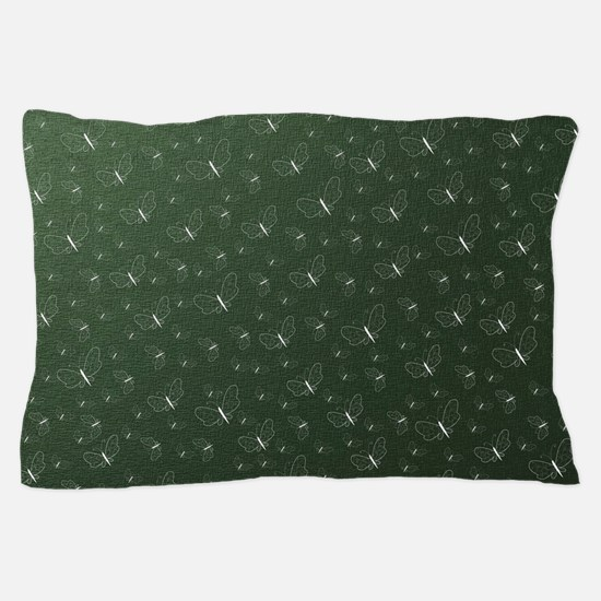 many small painted colorful butterflie Pillow Case