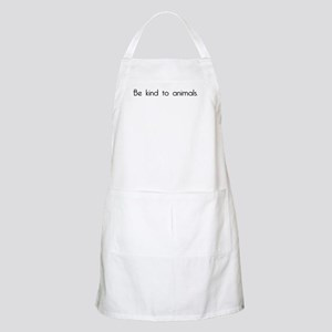 Be Kind to Animals BBQ Apron