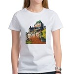 Frontenac Castle Quebec City Women's T-Shirt