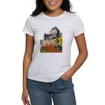 Frontenac Castle Quebec City Women's T-Shirt