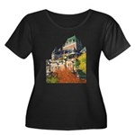 Frontenac Castle Quebec City Women's Plus Size Sco
