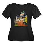 Frontenac Castle Quebec City Women's Plus Size Sco
