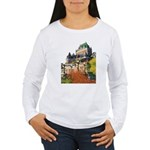 Frontenac Castle Quebec City Women's Long Sleeve T