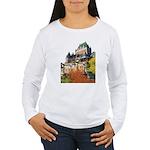 Frontenac Castle Quebec City Women's Long Sleeve T