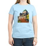 Frontenac Castle Quebec City Women's Light T-Shirt