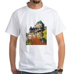 Frontenac Castle Quebec City White T-Shirt