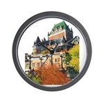 Frontenac Castle Quebec City Wall Clock