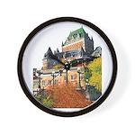 Frontenac Castle Quebec City Wall Clock