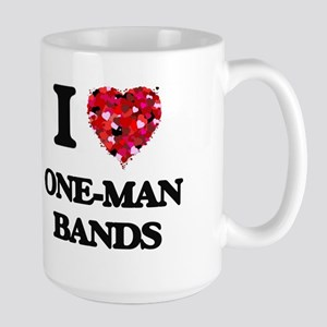 I love One-Man Bands Mugs