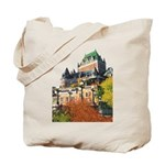 Frontenac Castle Quebec City Tote Bag
