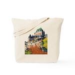 Frontenac Castle Quebec City Tote Bag