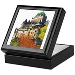 Frontenac Castle Quebec City Keepsake Box