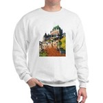 Frontenac Castle Quebec City Sweatshirt