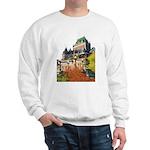 Frontenac Castle Quebec City Sweatshirt