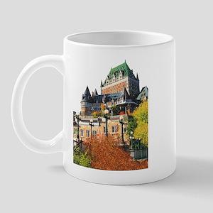 Frontenac Castle Quebec City Mug