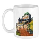 Frontenac Castle Quebec City Mug