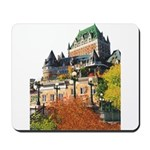 Frontenac Castle Quebec City Mousepad