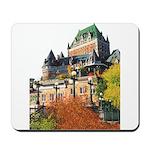 Frontenac Castle Quebec City Mousepad