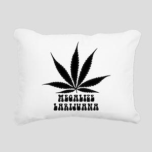 Megalize Larijuana Rectangular Canvas Pillow